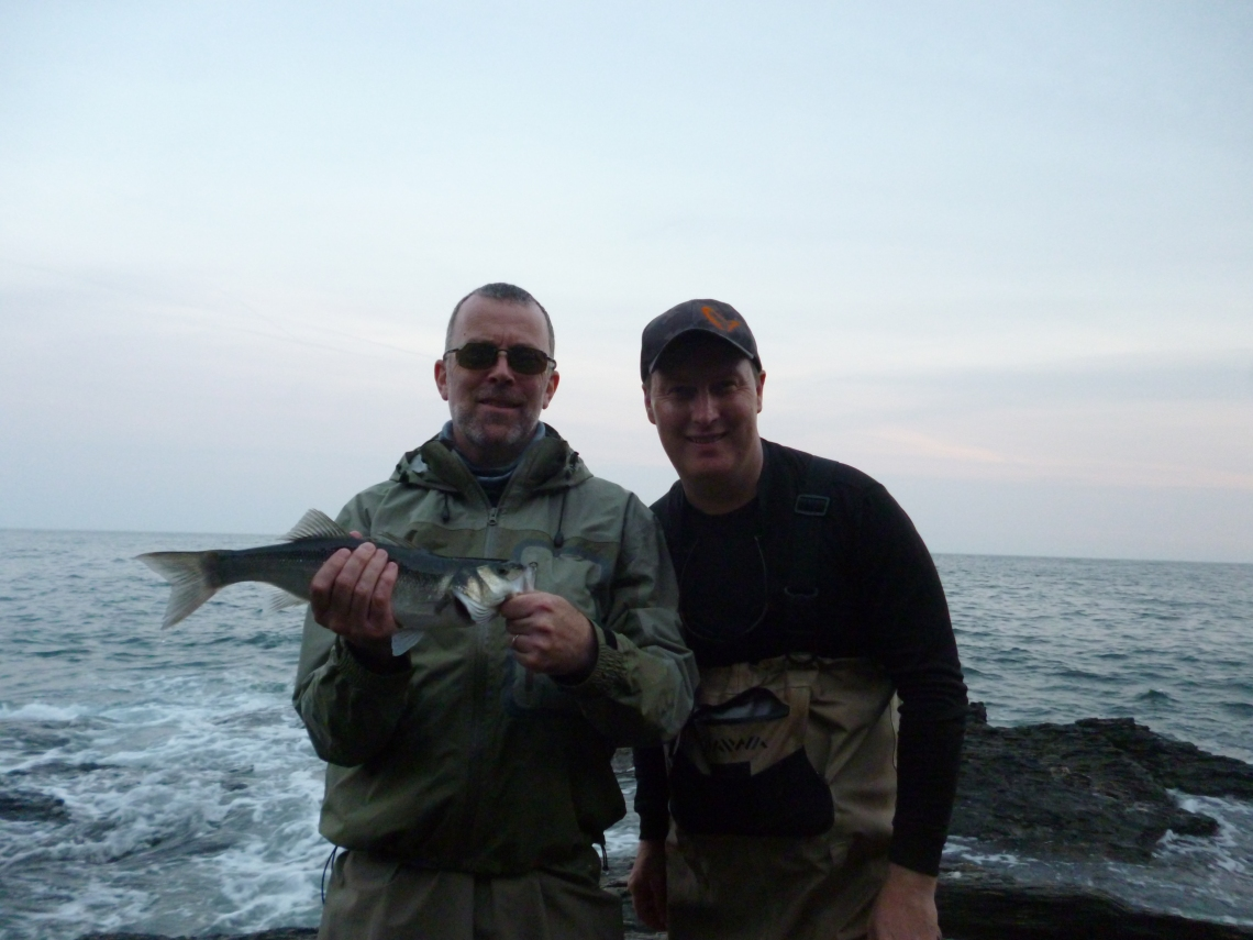 Client with South Devon Bass Guide