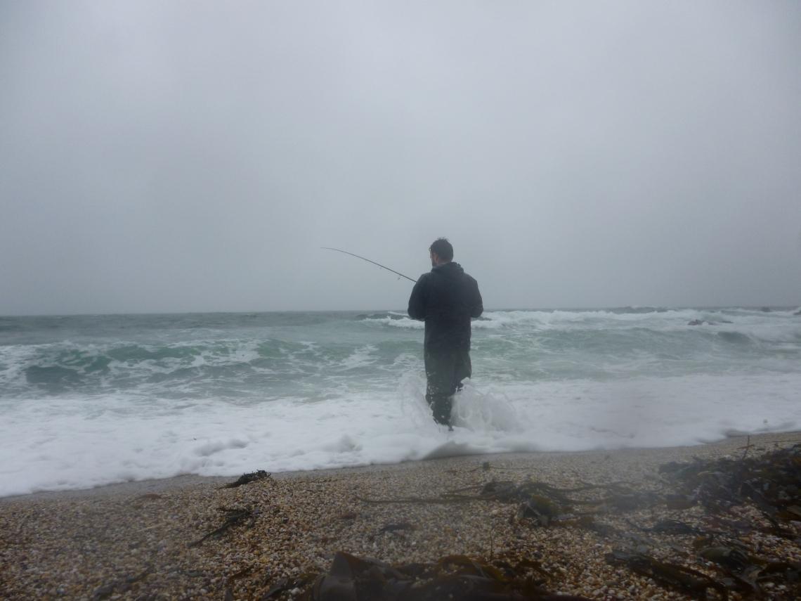 Beach lure fishing