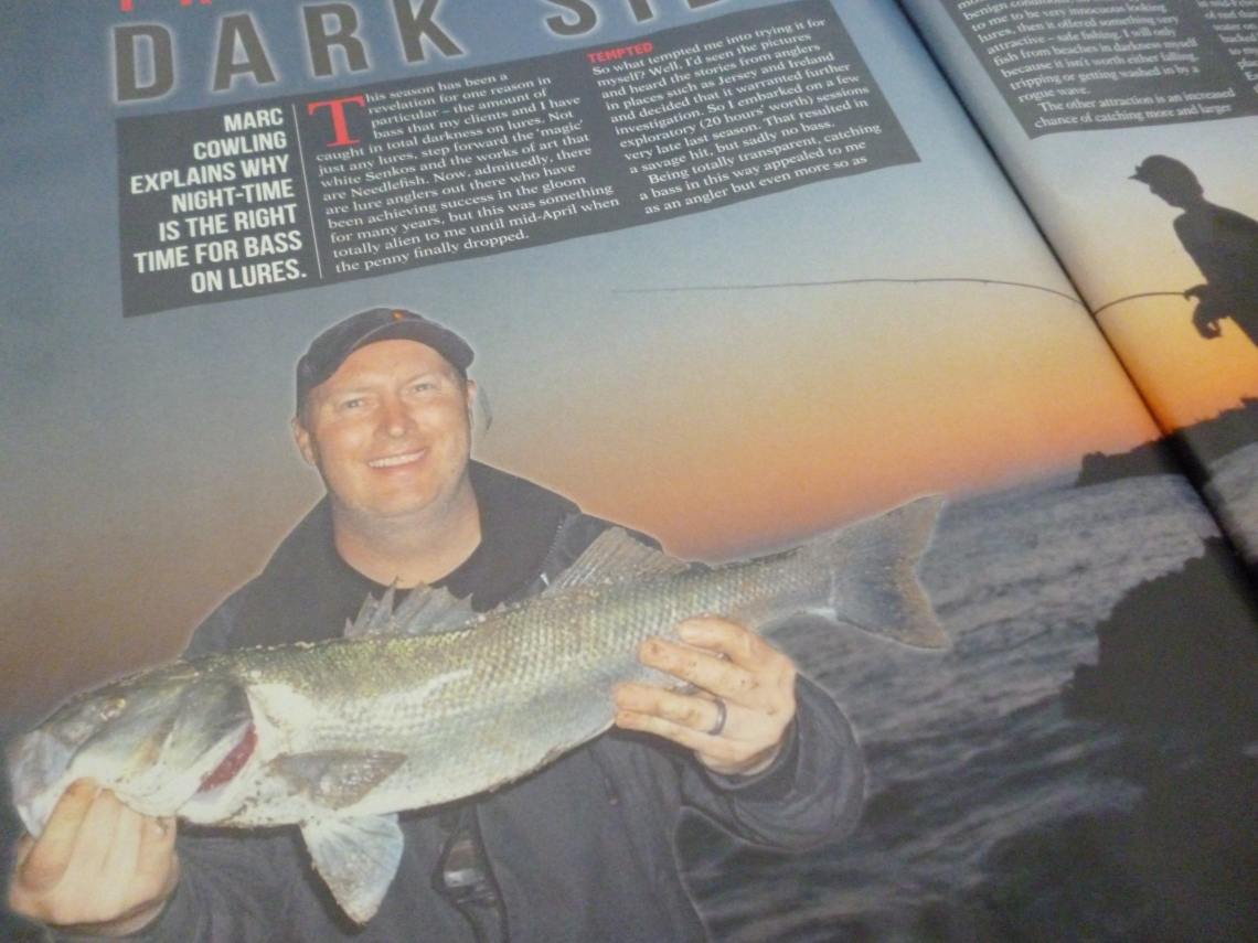 Marc Cowling Total Sea Fishing feature writer