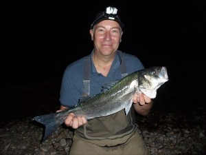 Guided bass fishing