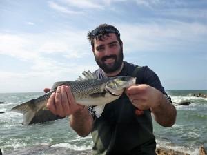 Happy clients south devon bass guide