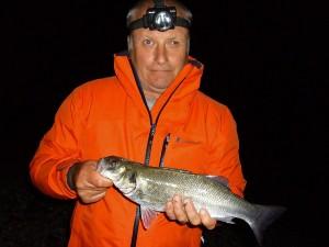 Albie Snax caught bass