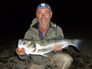 Big bass at night