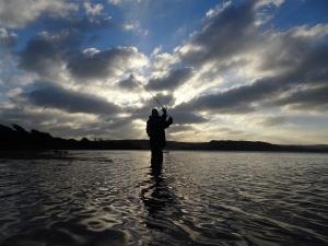 Fishing an estuary