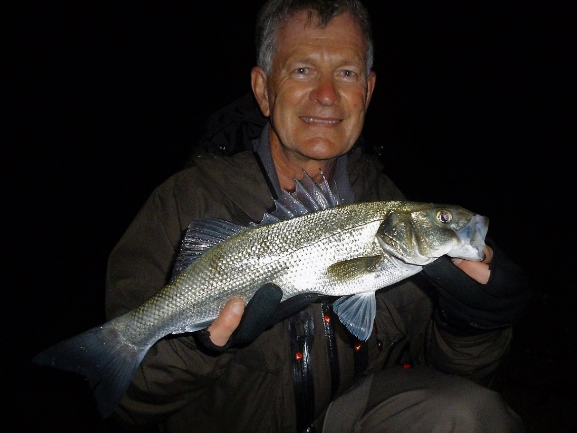 Bass caught on a Maria Squash F95
