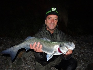 Big bass from South Devon Bass Guide