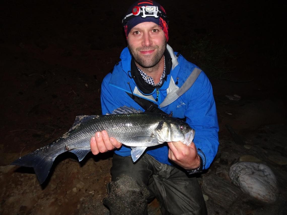 Bass caught on Needlefish