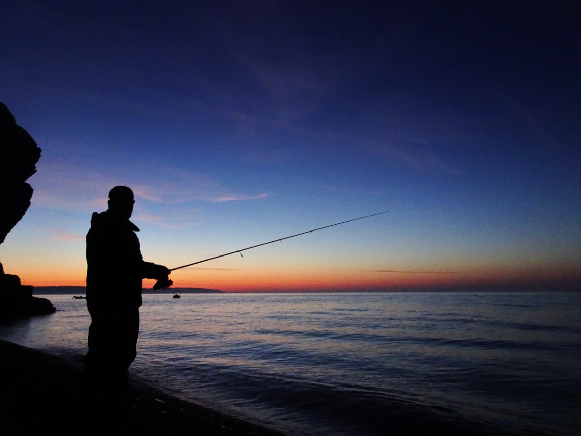 Fishing at dusk.JPG