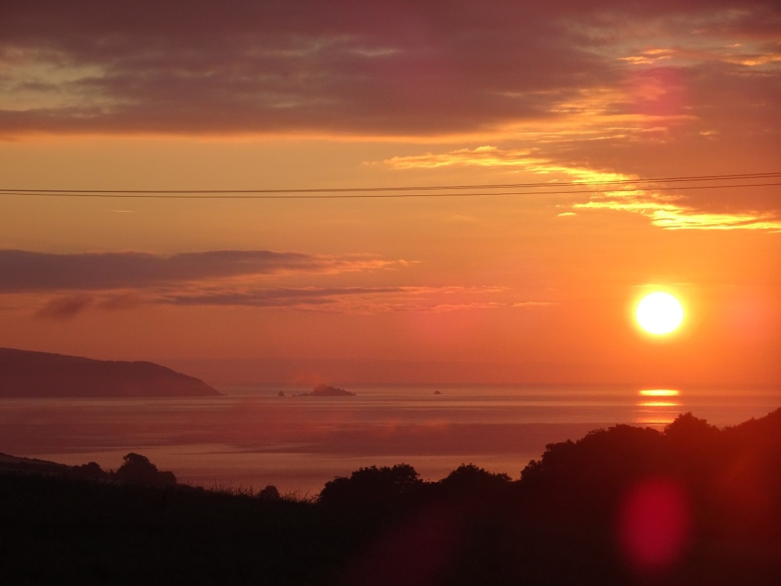 Dawn south Devon