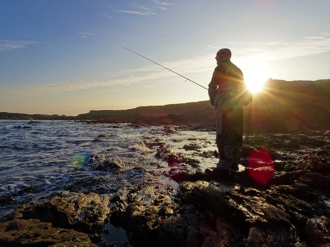 Experience bass fishing in Devon