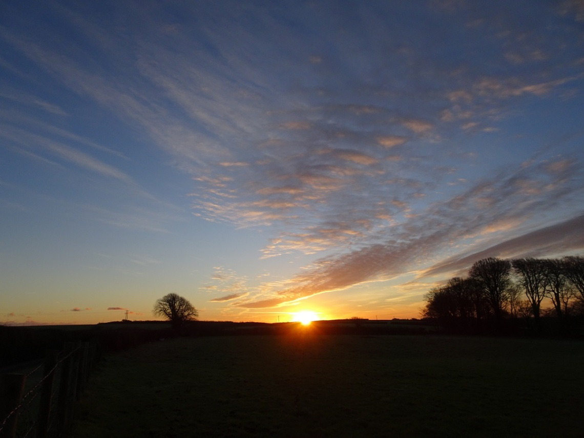 Devon dawn