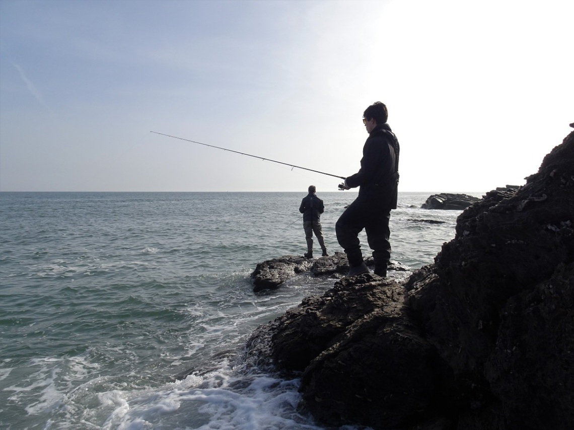 Clients fishing