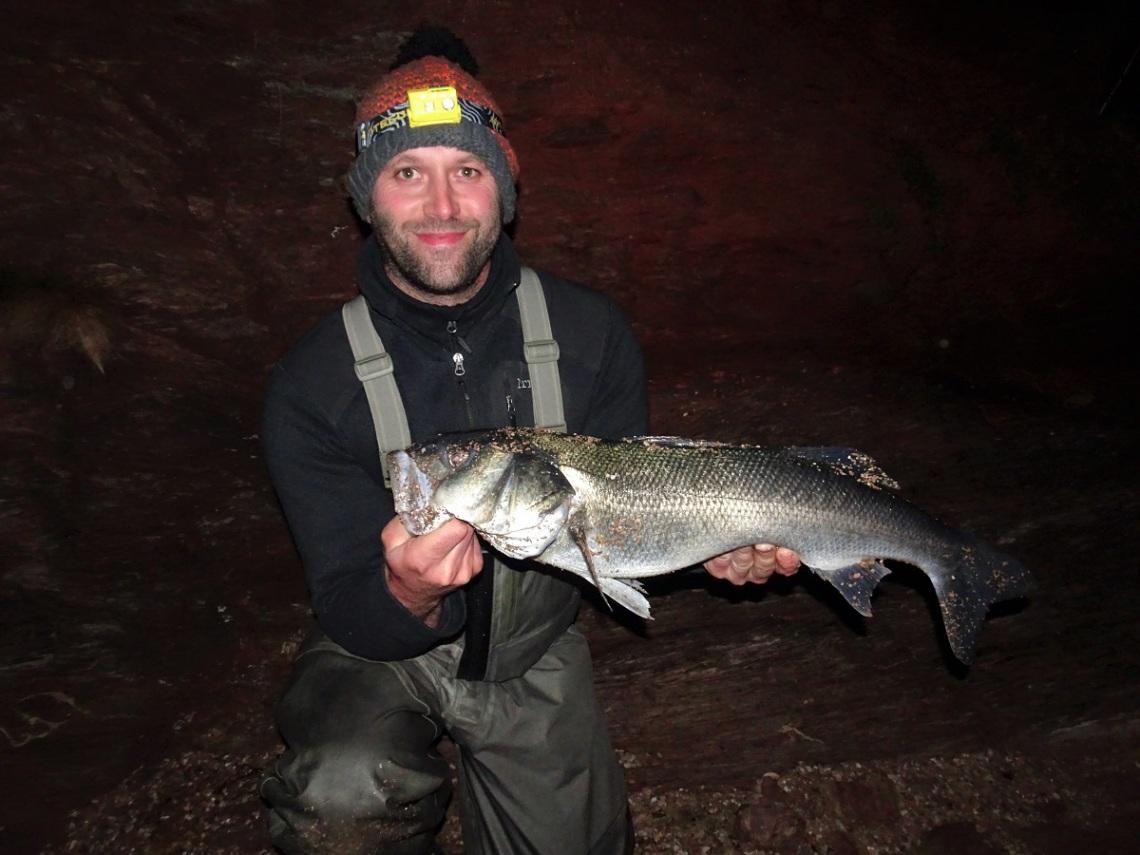 Big bass South Devon Bass Guide