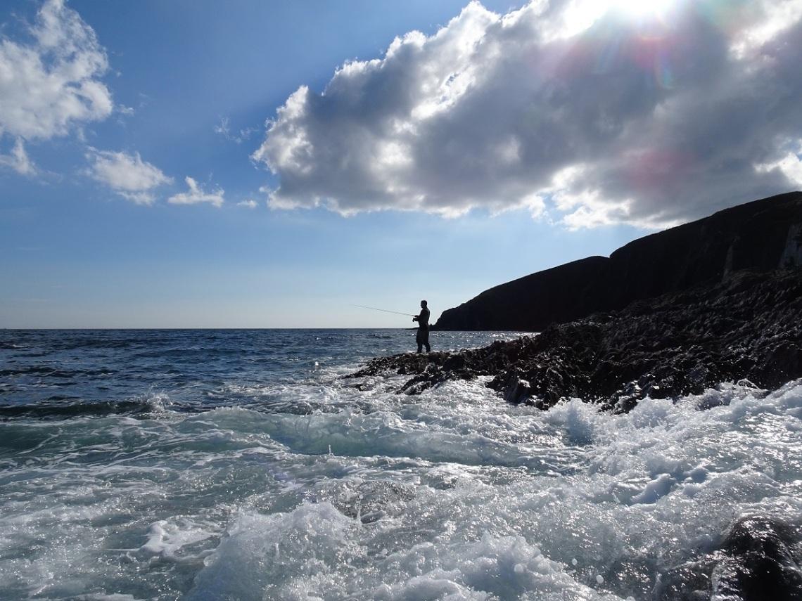 Burgh Island fishing