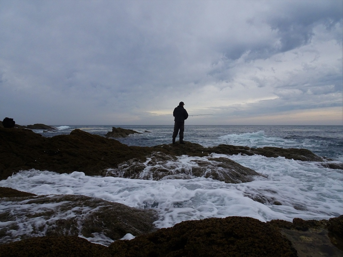 Rough seas and bass