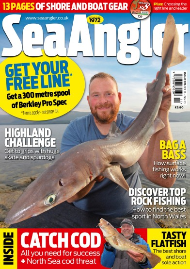 Sea Angler front cover Oct 19
