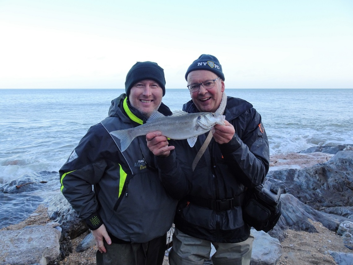 Bass on lures in winter
