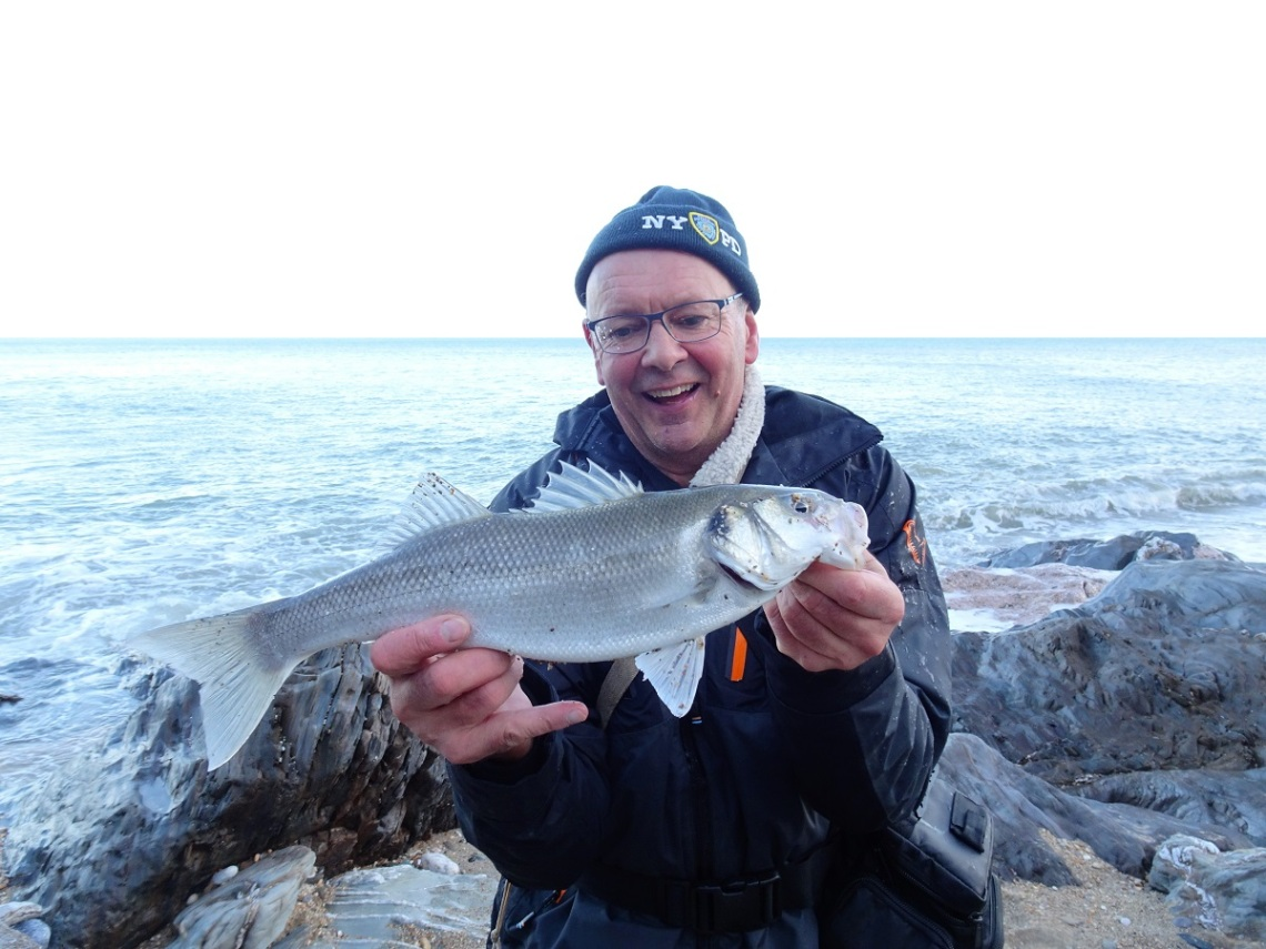 Bass on lures murky seas