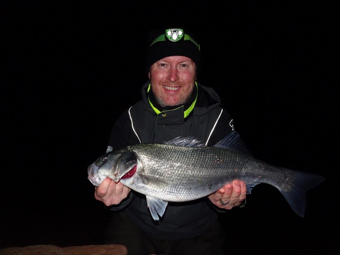 Marc Cowling bass fishing guide UK