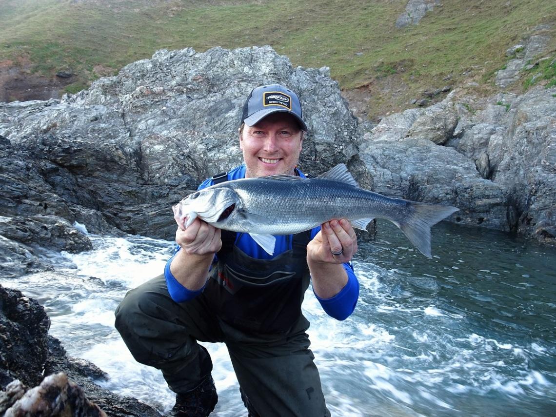 UK Lure fishing guide Marc Cowling