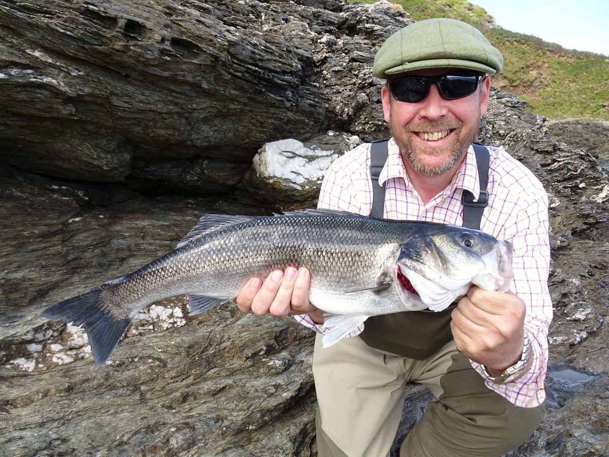 Guided bass lure fishing UK